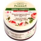 Green Pharmacy Face Care Rose подхранващ крем против бръчки  150 мл.