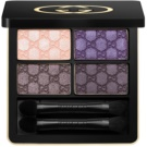 Gucci Eye oční stíny odstín 070 Purple Topaz (Magnetic Color Shadow Quad) 5 g