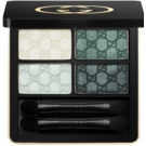 Gucci Eye oční stíny odstín 080 Aquamarine Dream (Magnetic Color Shadow Quad) 5 g