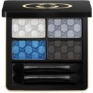 Gucci Eye oční stíny odstín 100 Ocean Rhapsody (Magnetic Color Shadow Quad) 5 g