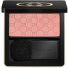 Gucci Face pudrová tvářenka odstín 030 Soft Peach (Sheer Blushing Powder) 4,25 g