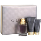 Gucci Made to Measure lote de regalo I. eau de toilette 90 ml + gel de ducha 50 ml + bálsamo after shave 75 ml