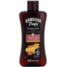 Hawaiian Tropic Protective wasserfestes schützendes Trockenöl zum Bräunen SPF 6 (Coconut & Papaya) 200 ml