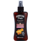 Hawaiian Tropic Protective wasserfestes schützendes Trockenöl zum Bräunen LSF 15 (Coconut & Guava) 200 ml