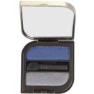 Helena Rubinstein Wanted Eyes Color подвійні тіні для повік відтінок 58 Majestic Grey and Feather Blue  2 x 1,3 гр