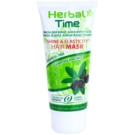 Herbal Time Green Tea and Olive maska za lase za sijaj in prožnost (Parabens Free) 200 ml