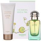 Hermès Un Jardin Sur Le Nil Gift Set VIII.  Eau De Toilette 50 ml + Body Milk 75 ml
