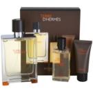 Hermès Terre D'Hermes dárková sada I. toaletní voda 100 ml + sprchový gel 40 ml + balzám po holení 15 ml
