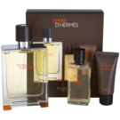Hermès Terre D'Hermes set cadou I.  Apa de Toaleta 100 ml + Gel de dus 40 ml + After Shave Balsam 15 ml