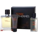 Hermès Terre D'Hermes подаръчен комплект VIII. парфюмна вода 75 ml + балсам след бръснене 15 ml + душ гел 40 ml