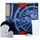 Hermès Voyage d´Hermes set cadou III Parfum 100 ml + Parfum 5 ml + Gel de dus 30 ml + balsam de corp 10 ml