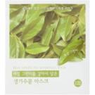 Holika Holika Hydrogel Mask feuchtigkeitsspendende Gesichtsmaske mit Auszügen aus grünem Tee  32 g