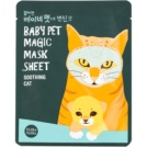 Holika Holika Magic Baby Pet освіжаюча та заспокоююча маска для обличчя 16 мл