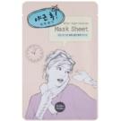 Holika Holika Mask Sheet After oživujúca pleťová maska (After Night Overtime) 18 ml