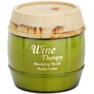 Holika Holika Wine Therapy nočna vlažilna maska  120 ml