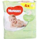 Huggies Natural Care čistiace utierky s aloe vera  224 Ks