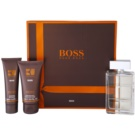 Hugo Boss Boss Orange Man set cadou VIII. Apa de Toaleta 100 ml + After Shave Balsam 75 ml + Gel de dus 50 ml