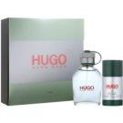 Hugo Boss Hugo подарунковий набір XIX.  Туалетна вода 75 ml + дезодорант-стік 75 ml