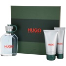 Hugo Boss Hugo подарунковий набір ІХ  Гель для душу 50 ml + Туалетна вода 125 ml + Бальзам після гоління 75 ml