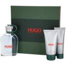 Hugo Boss Hugo dárková sada IX. sprchový gel 50 ml + toaletní voda 125 ml + balzám po holení 75 ml