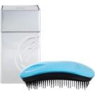 ikoo Metallic Home escova de cabelo Pacific Black