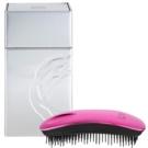 ikoo Metallic Home escova de cabelo Cherry Black