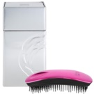 ikoo Metallic Home Hair Brush Cherry Black