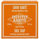 Institut Karité Paris Almond & Honey sapun solid unt de shea (Shea Butter 25%) 100 g