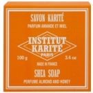 Institut Karité Paris Almond & Honey Feinseife mit Bambus Butter  100 g