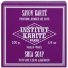 Institut Karité Paris Lavender tuhé mydlo s bambuckým maslom (Shea Butter 25%) 100 g