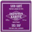 Institut Karité Paris Lavender mydło w kostce z masłem shea  100 g
