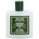 Institut Karité Paris Lemon Verbena Moisturizing Shower Gel with Nutritious Effect  250 ml