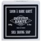 Institut Karité Paris Men sabonete de brabear contra pêlos encravados  100 g