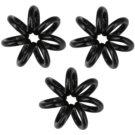 InvisiBobble Nano goma para cabello 3 uds  True Black (Styling Hair Rings)