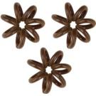InvisiBobble Nano goma para cabello 3 uds  Pretzel Brown (Styling Hair Rings)