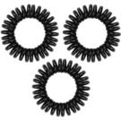 InvisiBobble Power gumička do vlasů 3 ks True Black (Extra Strong Hair Rings)