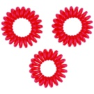 InvisiBobble Traceless Hair Ring еластичен ластик 3 бр цвят Red (Hair Rings)
