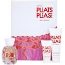 Issey Miyake Pleats Please (2012) lote de regalo I.  eau de toilette 50 ml + leche corporal 75 ml + gel de ducha 30 ml