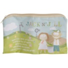 Jack N' Jill Sleepover geanta din bumbac natural (Natural Cotton + Water Resistant Lining)