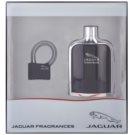 Jaguar Classic Black ajándékszett II. Eau de Toilette 100 ml + utazó lakat