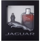 Jaguar Classic Red dárková sada I. toaletní voda 100 ml + autonabíječka