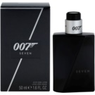 James Bond 007 Seven loción after shave para hombre 50 ml