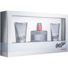 James Bond 007 Quantum ajándékszett II.  Eau de Toilette 50 ml + tusfürdő gél 2 x 50 ml