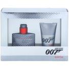 James Bond 007 Quantum ajándékszett III.  Eau de Toilette 30 ml + tusfürdő gél 50 ml