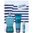 Jean Paul Gaultier Le Male lote de regalo XIV. eau de toilette 125 ml + gel de ducha 75 ml + eau de toilette 9 ml