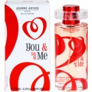 Jeanne Arthes You & Me Eau de Parfum für Damen 100 ml