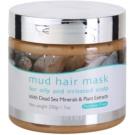 Jericho Hair Care maska błotna do włosów do tłustej i podrażnionej skóry głowy  200 ml