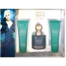 Jessica Simpson Fancy Nights dárková sada I. parfemovaná voda 100 ml + sprchový gel 90 ml + tělové mléko 90 ml