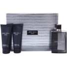 Jimmy Choo Man Gift Set V.  Eau De Toilette 100 ml + Shower Gel 100 ml + Aftershave Balm 100 ml