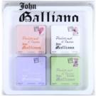 John Galliano Mini подаръчен комплект I.  тоалетна вода 3 x 10 ml + парфюмна вода 10 ml